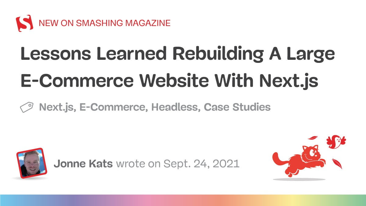 Classes Realized Rebuilding A Massive E-Commerce Web site With Subsequent.js (Case Examine)