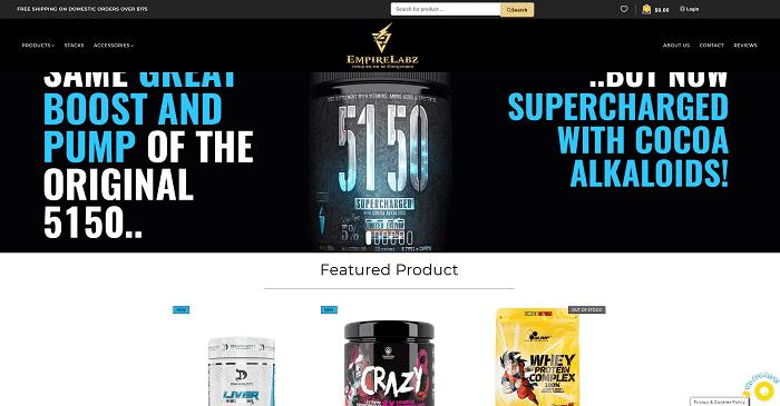 EmpireLabz Australia Supplements